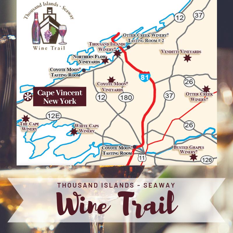 Map Of New York Wineries.Craft Beverages Breweries Wineries Coffee